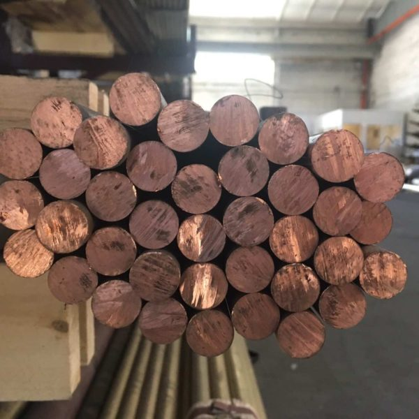 90 мм круг медный длина 3000 мм (медь пруток мягкий твердый и полутвердый) марка М1 и М2 порезка